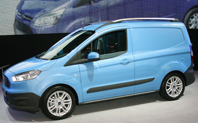 FORD TRANSIT COURIER фургон - фото