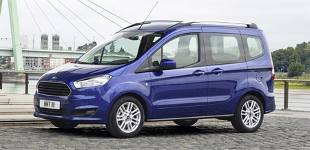 FORD TRANSIT COURIER Kombi - фото