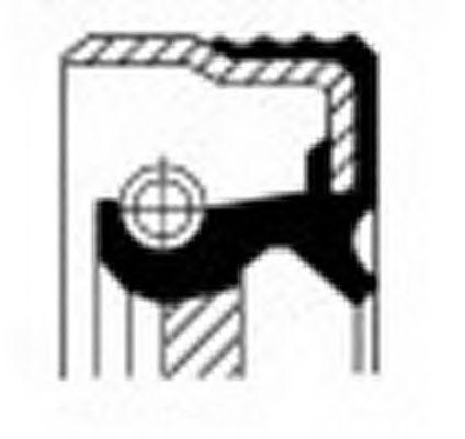 CORTECO 12018321B Уплотняющее кольцо, коленчатый вал
