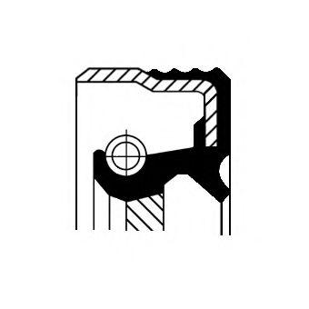CORTECO 12012697B Уплотняющее кольцо, дифференциал
