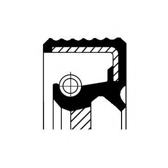 CORTECO 12011839B Уплотняющее кольцо, ступенчатая коробка передач; Уплотняющее кольцо, распределительный вал; Уплотнительное кольцо, первичный вал