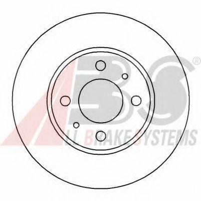 A.B.S. 16046 Тормозной диск