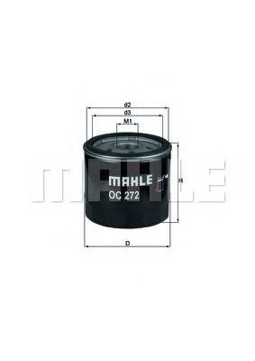 MAHLE ORIGINAL OC 272 Масляный фильтр