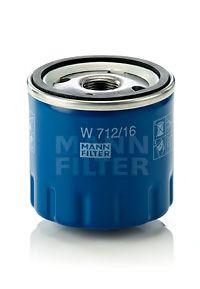 MANN-FILTER W 712/16 Масляный фильтр
