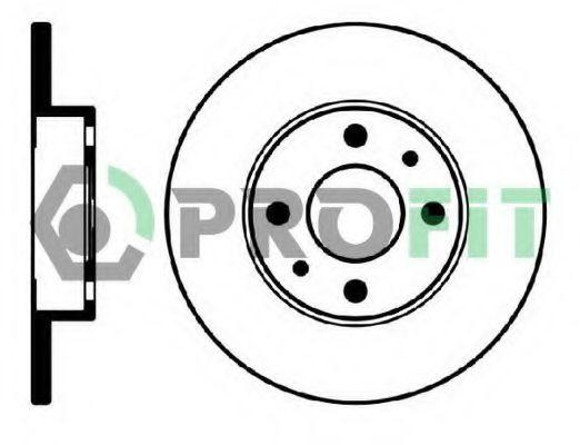 PROFIT 5010-0140 Тормозной диск