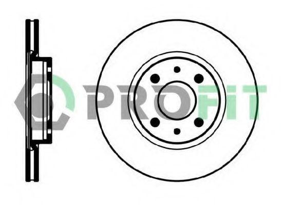 PROFIT 5010-0521 Тормозной диск