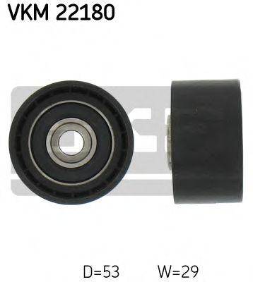 SKF VKM 22180 Паразитный / Ведущий ролик, зубчатый ремень